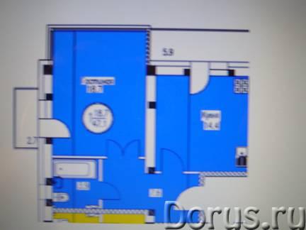 Ессентуки продается 1-комн. кв-ра в строящемся доме, 1/5 эт кирпич, 47/20/16 кв. м. состояние - Поку..., фото 1